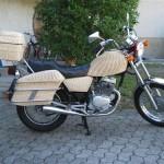 geflochtenes motorrad 125 honda 1