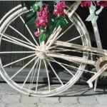 hinterrad von fahrrad
