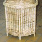 sechseckiger wäschekorb